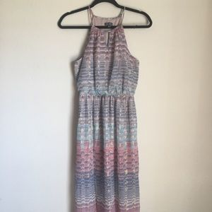 Lily Rose Striped Maxi Dress